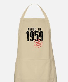 Made In 1959, All Original Parts Apron