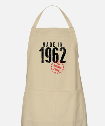 Made In 1962, All Original Parts Apron