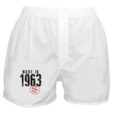 Made In 1963, All Original Parts Boxer Shorts