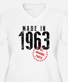 Made In 1963, All Original Parts Plus Size T-Shirt