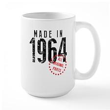 Made In 1964, All Original Parts Mugs