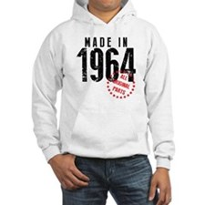 Made In 1964, All Original Parts Hoodie