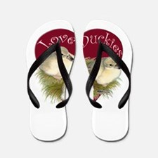 Love Duckies Flip Flops