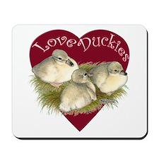 Love Duckies Mousepad