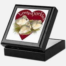 Love Duckies Keepsake Box