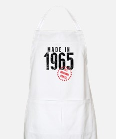 Made In 1965, All Original Parts Apron