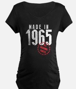 Made In 1965, All Original Parts Maternity T-Shirt