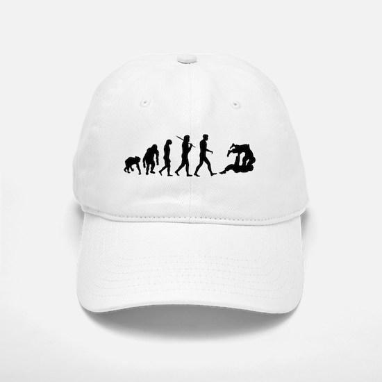 Evolution of Judo Baseball Baseball Cap