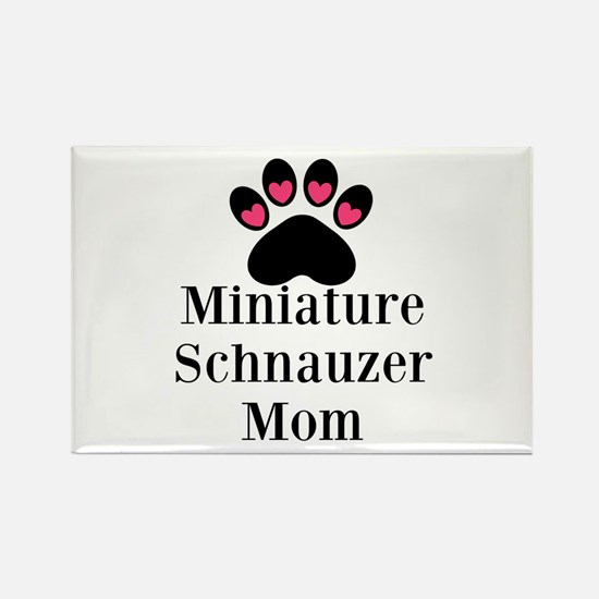 Miniature Schnauzer Mom Magnets