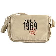 Made In 1969, All Original Parts Messenger Bag