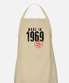 Made In 1969, All Original Parts Apron