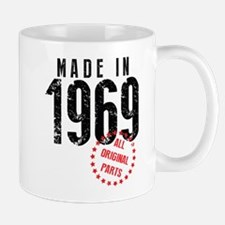 Made In 1969, All Original Parts Mugs