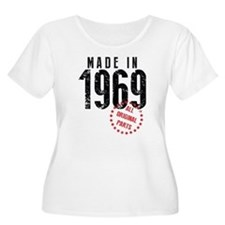Made In 1969, All Original Parts Plus Size T-Shirt