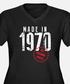 Made In 1970, All Original Parts Plus Size T-Shirt
