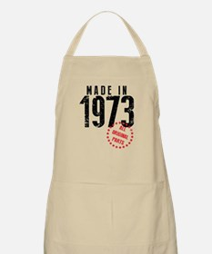 Made In 1973, All Original Parts Apron