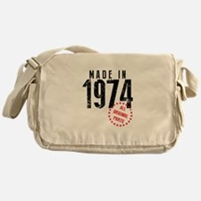 Made In 1974, All Original Parts Messenger Bag