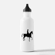Equestrian Horse Silhouette Water Bottle