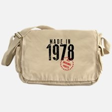 Made In 1978, All Original Parts Messenger Bag
