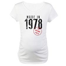 Made In 1978, All Original Parts Shirt