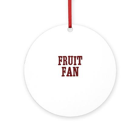 fruit fan Ornament (Round)