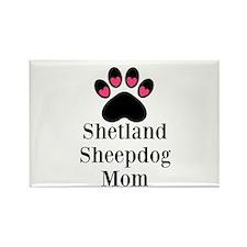 Shetland Sheepdog Mom Magnets