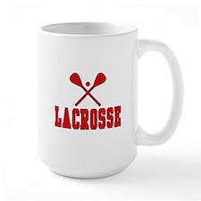 Lacrosse Red Mugs