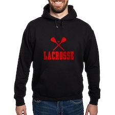 Lacrosse Red Hoodie