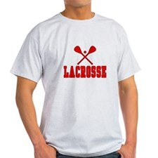 Lacrosse Red T-Shirt