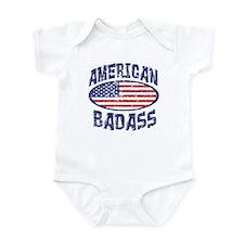 American Badass Infant Bodysuit