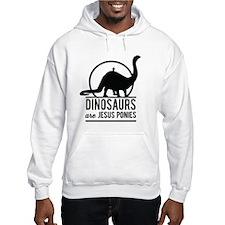 Dinosaurs Are Jesus Ponies Hoodie