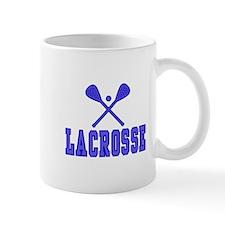 Lacrosse blue Mugs