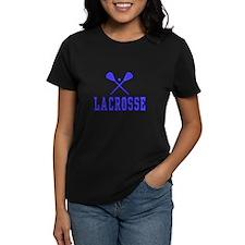 Lacrosse blue T-Shirt
