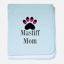 Mastiff Mom baby blanket