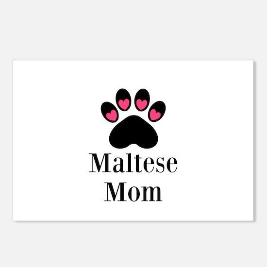 Maltese Mom Postcards (Package of 8)
