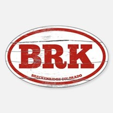 Breckenridge Old Paint Sticker (Oval)