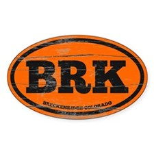 Breckenridge Old Paint Decal