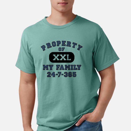 Property Of Family Dad Mens Comfort Colors T-Shirt