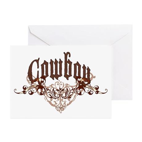 Cowboy Greeting Cards (Pk of 10)