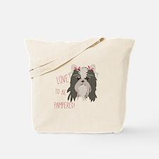Pampered Pet Tote Bag