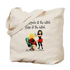 What Happens At The Salon Tote Bag