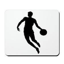 Basketball Player Silhouette Mousepad