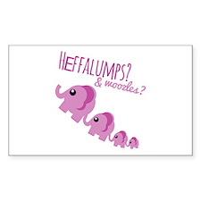 Heffalumps? Decal