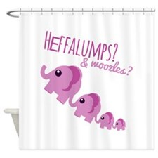 Heffalumps? Shower Curtain