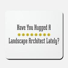 Hugged Landscape Architect Mousepad
