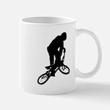 BMX Biker Silhouette Mugs