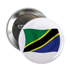 "Tanzania Flag 2.25"" Button (100 pack)"