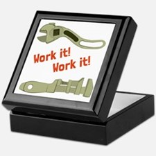 Work It Keepsake Box