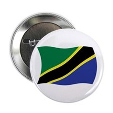 "Tanzania Flag 2 2.25"" Button (100 pack)"