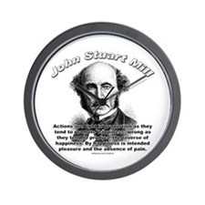 John Stuart Mill 01 Wall Clock