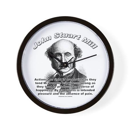 John Stuart Mill 01 Wall Clock